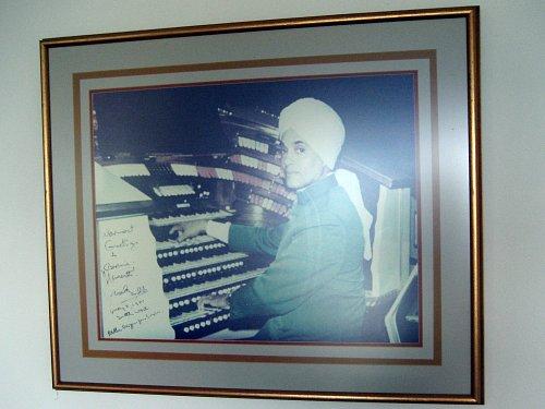 Signed photo of Korla Pandit