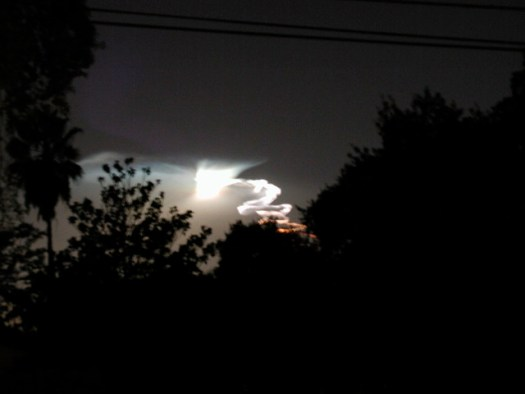 2002 - Southern California Missile Launch