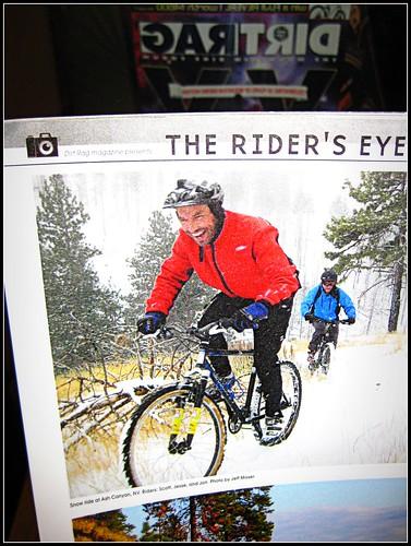 Bike Carson in Dirt Rag!