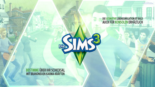 62510 Sims 3 Console Wallpaper From Simfans German