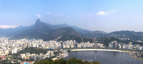 Rio de Janeiro, view of the city from the &quo...