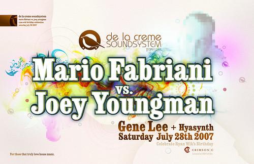 Mario Fabriani vs. Joey Youngman