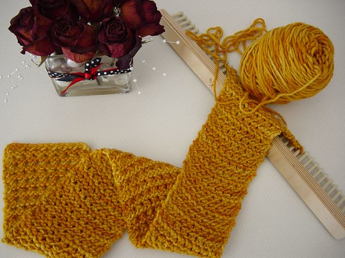 Waves of Lace Scarf