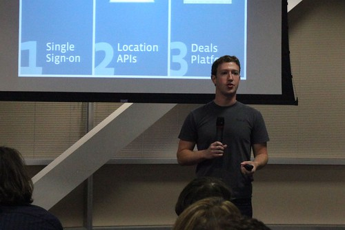Mark Zuckerberg introduces new mobile platform