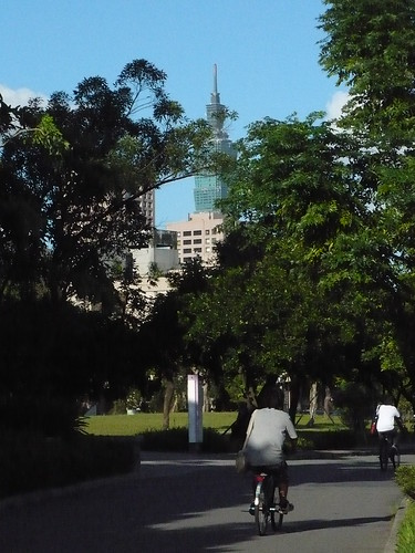 Taipei 101 from NTU Main Campus