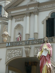 Entrance of Basilika Ng Nazareno I