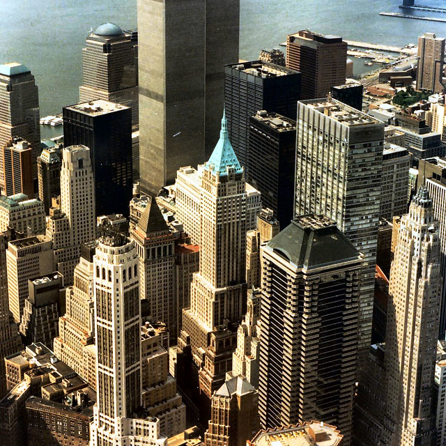 NY twin towers 1997