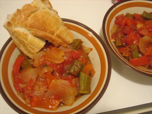 okra stew!!!