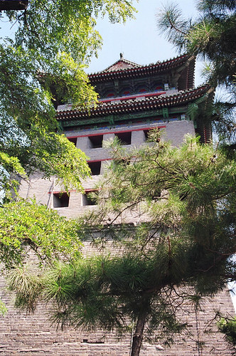 The watchtower marked the south-eastern corner of Beijing during the Ming Dynasty.