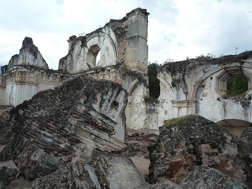 """Ruinen vom Klosterkomplex """"La Recollecion"""", Antigua"""