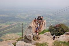 Nandi on Shivagange Hill