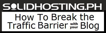 How To Break the Traffic Barrier Of Your Blog