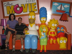 Emy, Ray and the Simpsons