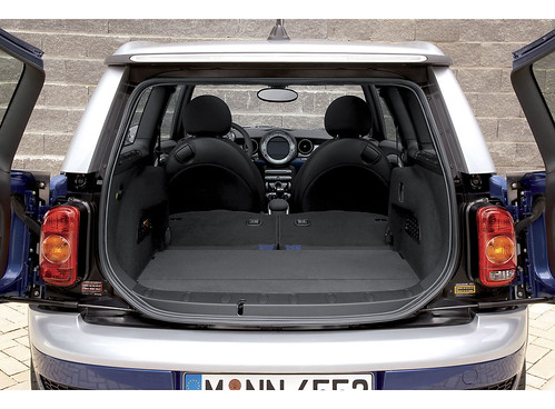 spacious trunk