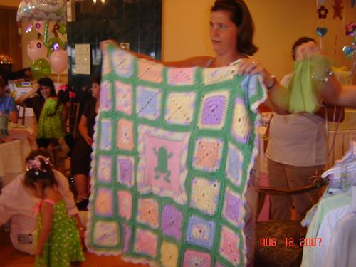 Crocheted/Knitted blanket