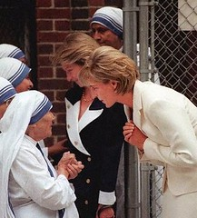 Mother Teresa with Princess Diana, June, 18 1997, New York city