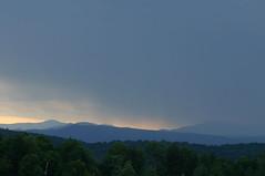 storm settling in