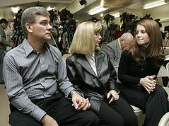 Darryl, Theresa and Jaclyn Sharratt