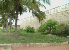 Fort like Prahara walls