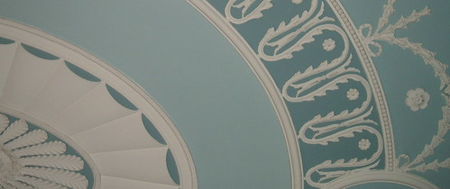 Wedgewood Blue Ceiling