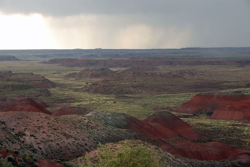 Storm over the Painted Desert