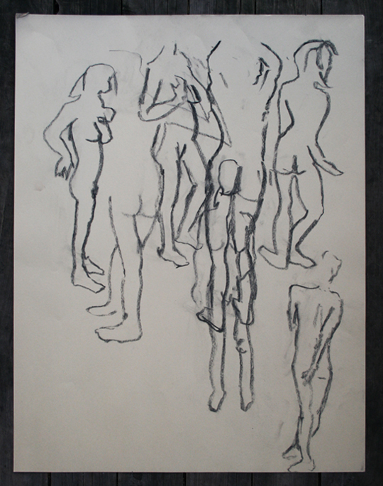 One-Minute Nude Studies