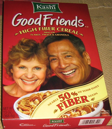 High Fiber Cereal - now with TWIGS!!!