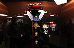 Dress blues of Medal of Honor recipient, Cpl. ...