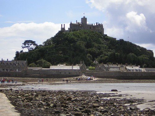 Un monastère sur une île. Mont St Michael