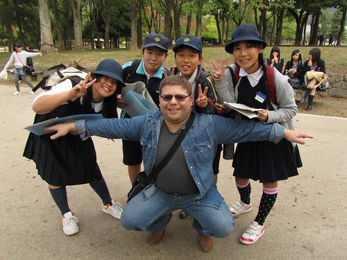 Ilya at Ueno Park