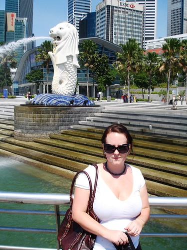Me & the merlion
