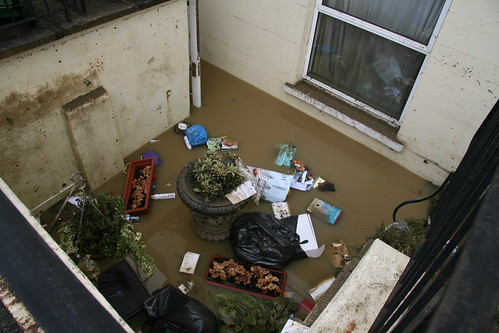 flooded basement
