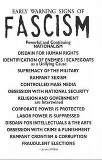 Warning Signs of Fascism