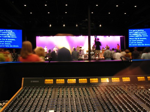 Church Sound Desk example