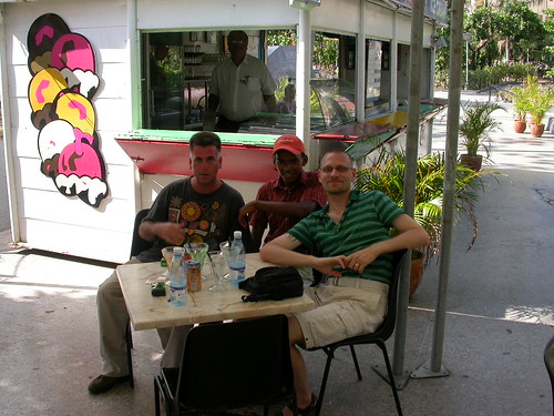 Delvis, Alex and Brian