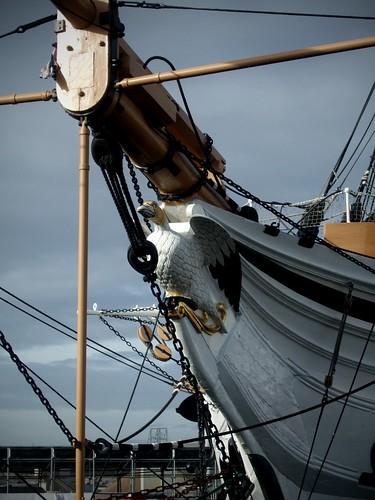 HMS Gannet Figurehead