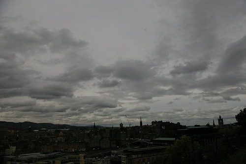 Storm over Edinburgh