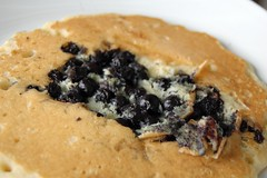 Blueberry pancake!