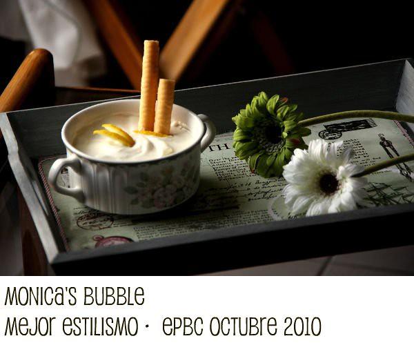Mejor Estilismo · Evento Photo Blog Culinario Octubre 2010