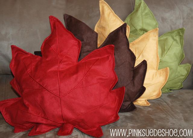 four pillows