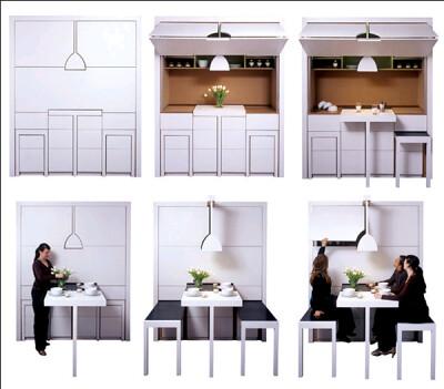 Grandma's Revenge kitchen design