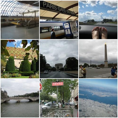 London and France Mosaic