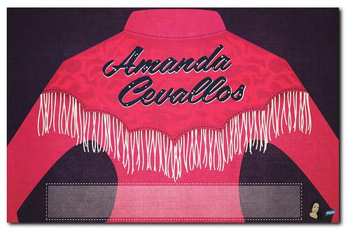 Amanda Cevallos Blank Poster