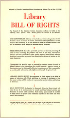 ALA Library Bill of Rights, 1948