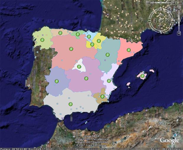 Colorea Tu Mapa La Cartoteca