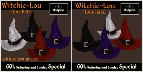 Hatpins - Witchie-Lou Hats - Sixty Linden Weekend