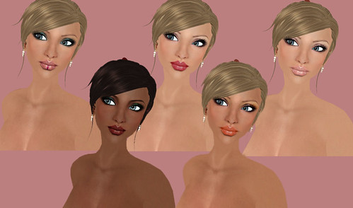 Minnu Model Glossy Makeup