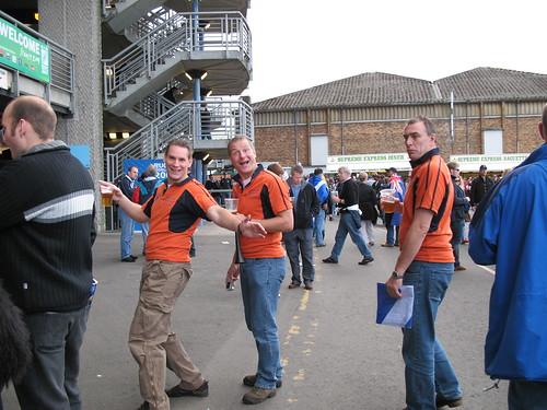 Dutch rugby fans