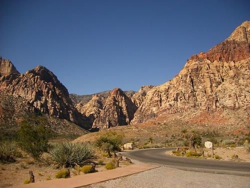 Pine Creek Canyon Trail Head (in Red Rock Canyon)