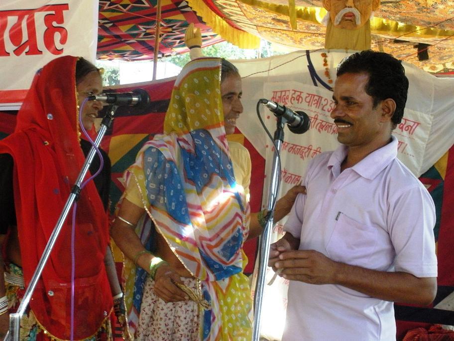 Pics from the satyagraha - 5, 6 & 7 Oct 2010 - 17